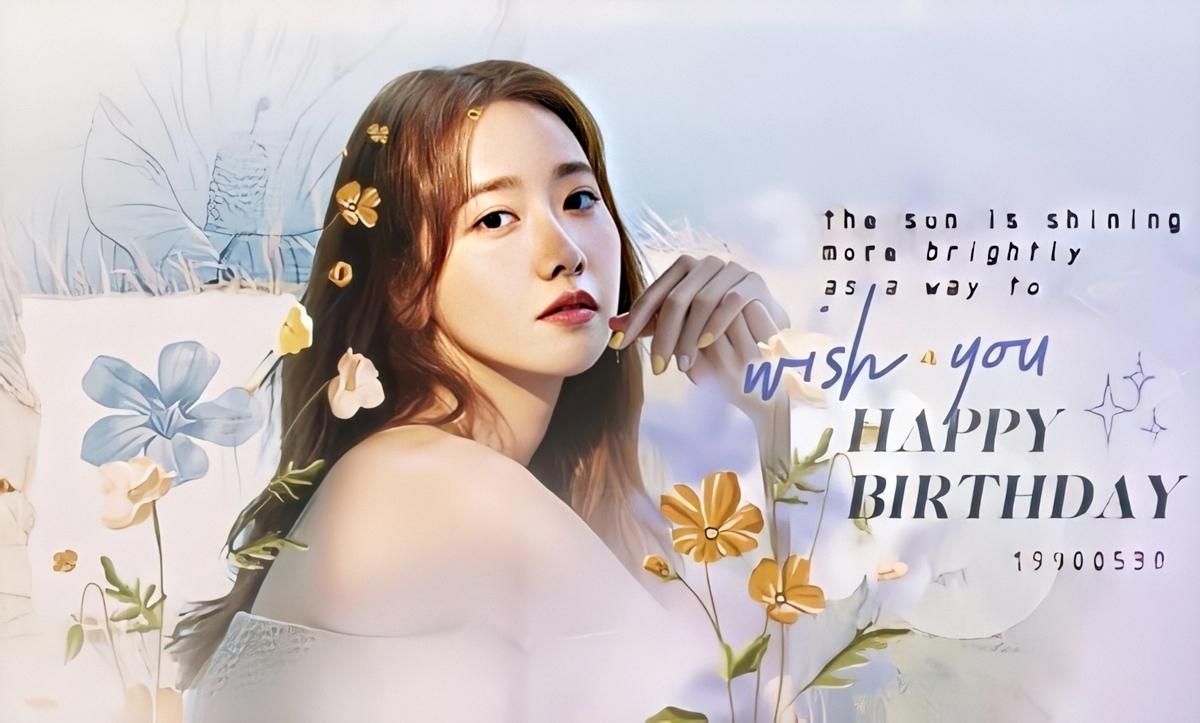 Fanpage lớn nhất của Yoona tại Việt Nam thiết kế ảnh cover mừng sinh nhật thần tượng, hút hàng nghìn lượt thích. Ảnh: YoonaVN.