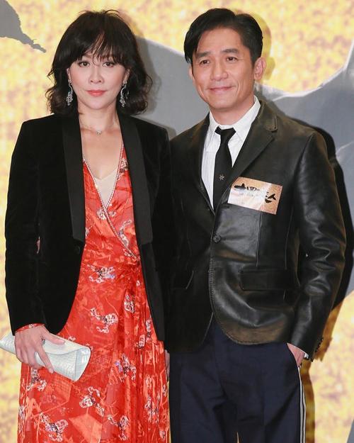 Vợ chồng Lương Triều Vỹ, Lưu Gia Linh. Ảnh: Sina.