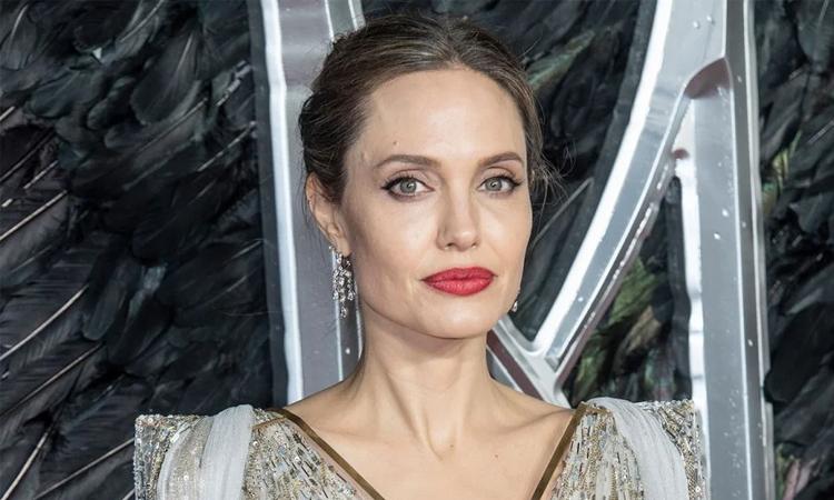 Angelina Jolie tại buổi công chiếu Maleficent 2 năm ngoái. Ảnh: Sopa Image.