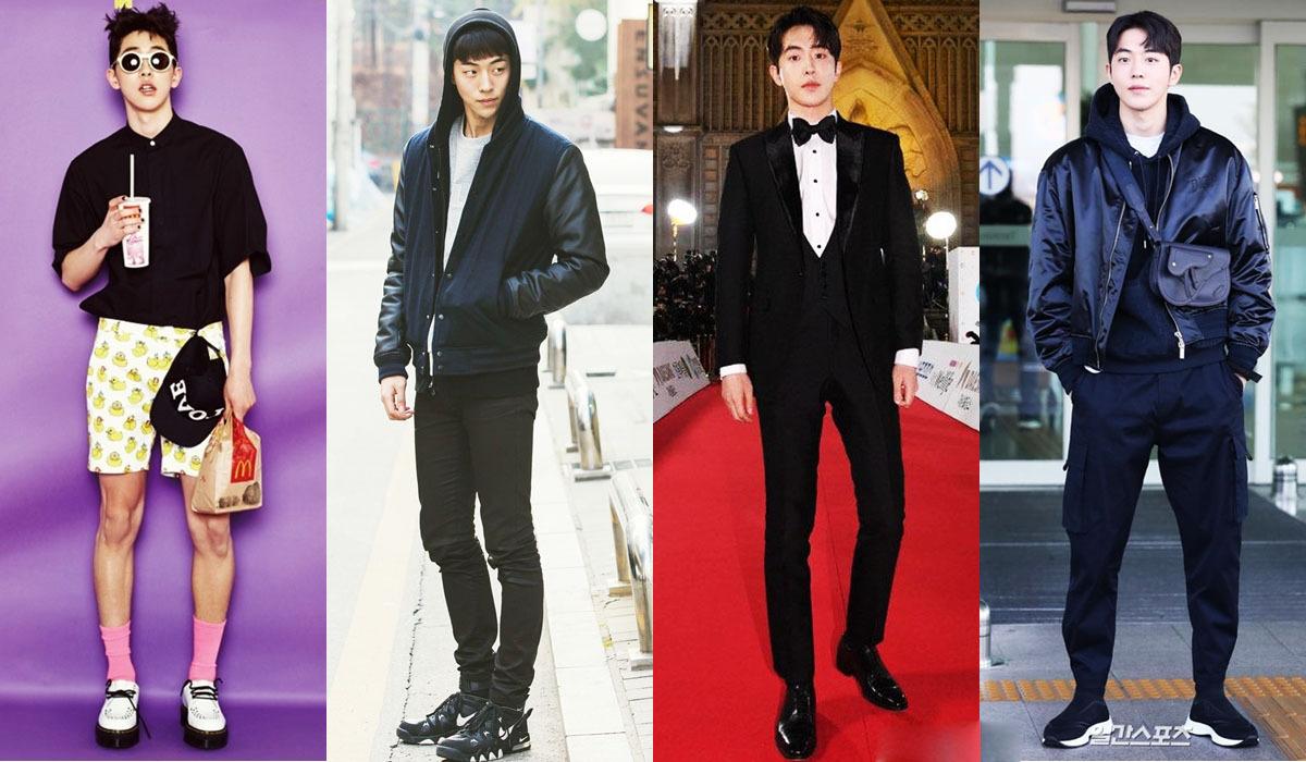 Nam Joo Hyuk cao 1,88 m, gia nhập làng giải trí với vai trò người mẫu. Mỗi lần xuất hiện, phong cách của anh được nhiều fan bàn luận. Nhờ thân hình cân đối, anh lọtTop 50 người có body hấp dẫn nhất năm 2017 củaVogue UK. Trang phục anh diện được nhiều chàng trai săn lùng.