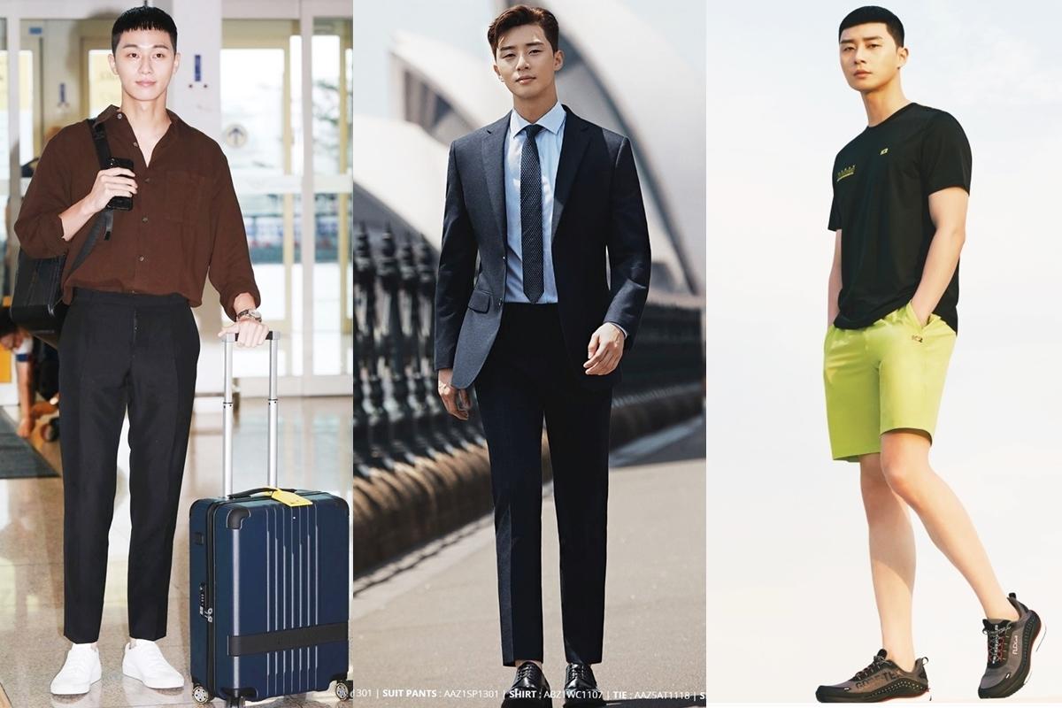 Park Seo Joon đứng đầu danh sách. Anh cao1,86 m, thích hợp với nhiều phong cách như năng động, thư sinh, lịch lãm và nổi bật nhất với trang phục đường phố. Anh cũng được mời làm gương mặt đại diện nhiều nhãn hàng thời trang.Tài khoản Instagram của anh có đến13,5 triệu lượt theo dõi. Mỗi hình ảnh diễn viên chia sẻ thu hút từ 1,2 triệu đến 3 triệu lượt thích.