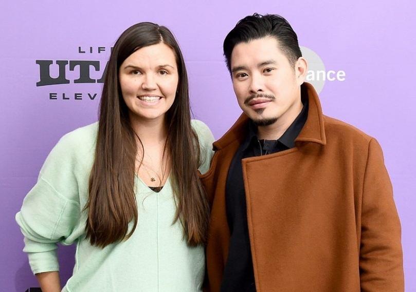 Bảo Nguyễn và Julia Nottingham - nhà sản xuất Be Water - ở LHP Sundance năm 2020. Ảnh: IPTC.