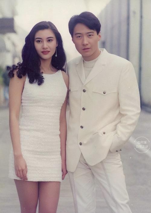Lý Gia Hân và Lê Minh năm 1993