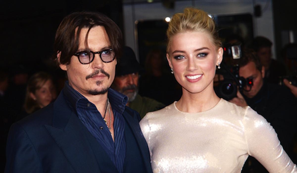 Johnny Depp và Amber Heard thời còn yêu. Ảnh: AFP.