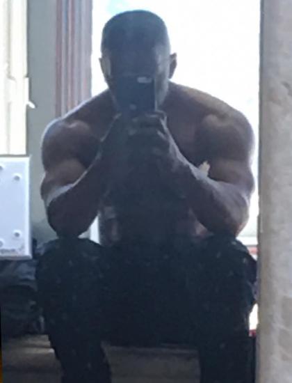 Jamie Foxx khoe thành quả luyện tập cho vai Mike Tyson. Ảnh: Instagram.