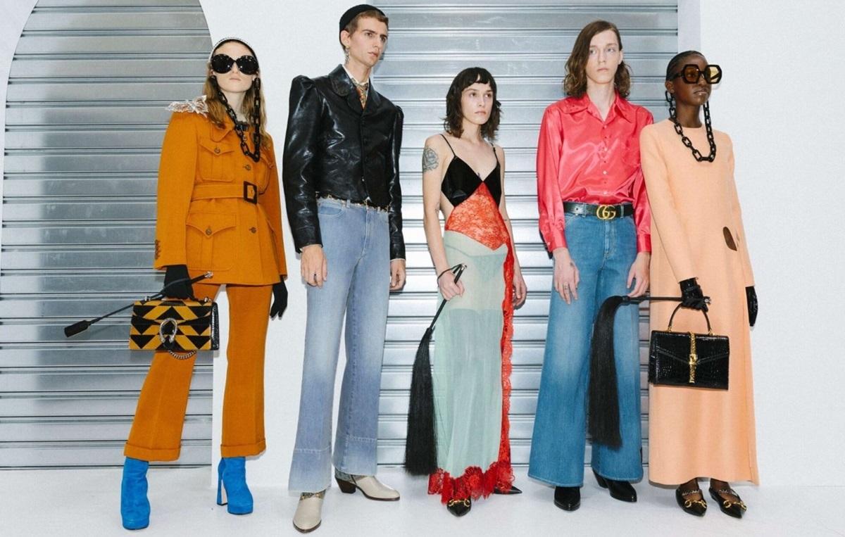 Quan niệm của các nhà thiết kế thời trang đường phốít nhiều bị ảnh hưởng bởi truyền thông, nhất là khách hàng. Ảnh: Gucci.