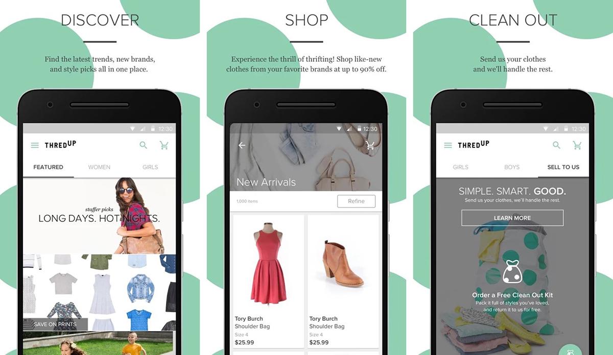 Trang Thredup hợp tácvới cáctrang bán lẻnhằm tăng trải nghiệm cho khách. Ảnh: Eco Warrior Princes.