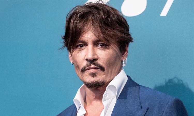 Johnny Depp tại liên hoan phim Venice năm ngoái. Ảnh: People.