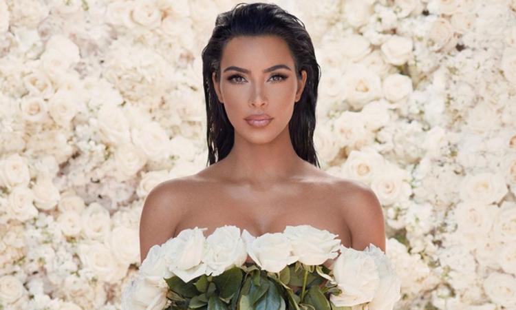 Người mẫu kiêm doanh nhân Kim Kardashian. Ảnh: Instagram.