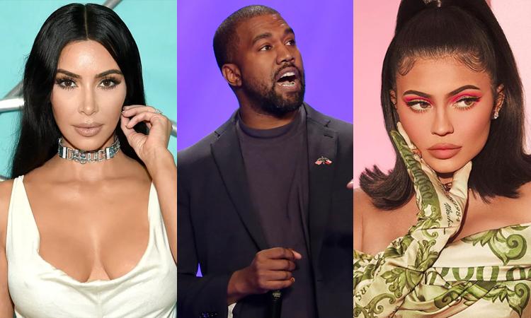 Kim Kardashian, Kanye West và Kylie Jenner (từ trái qua) đều gây tranh cãi vì danh hiệu tỷ phú. Ảnh: Instagram.