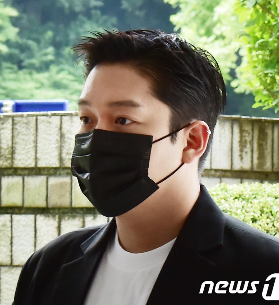 Choi Jong Bum tại tòa. Ảnh: News1.