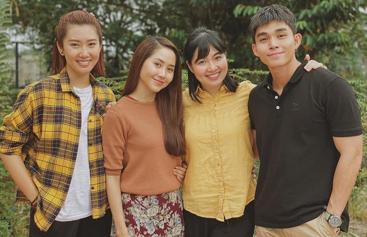 Từ trái qua: Thúy Ngân, Tường Vy, Lê Khánh, Jun Phạm. Ảnh: VieOn.