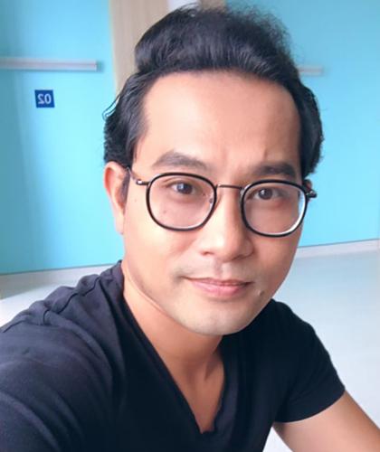 Diễn viên Huỳnh Đông. Ảnh: Facebook.