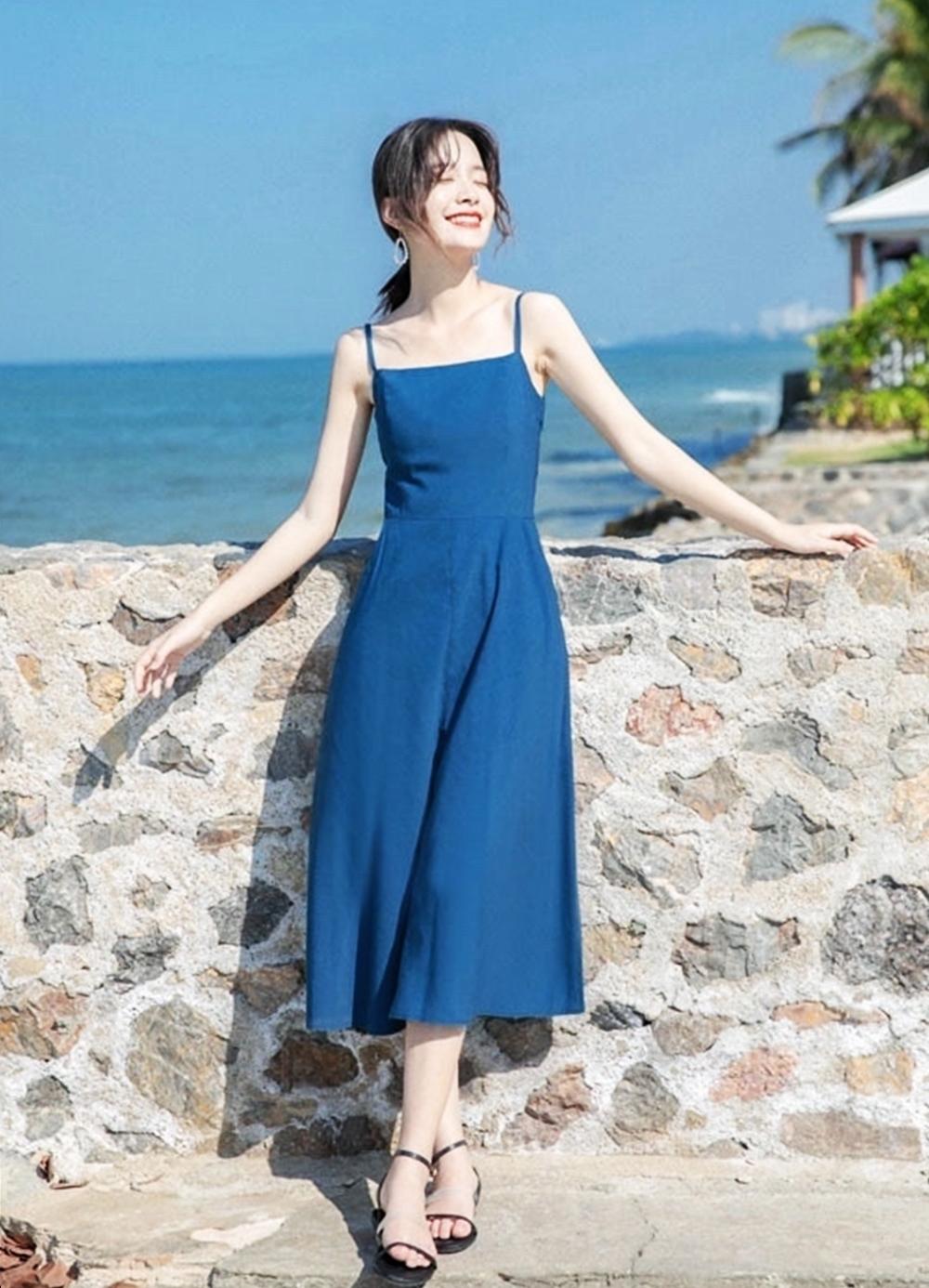 Váy retro thích hợp dạo phố, đi biển - 14