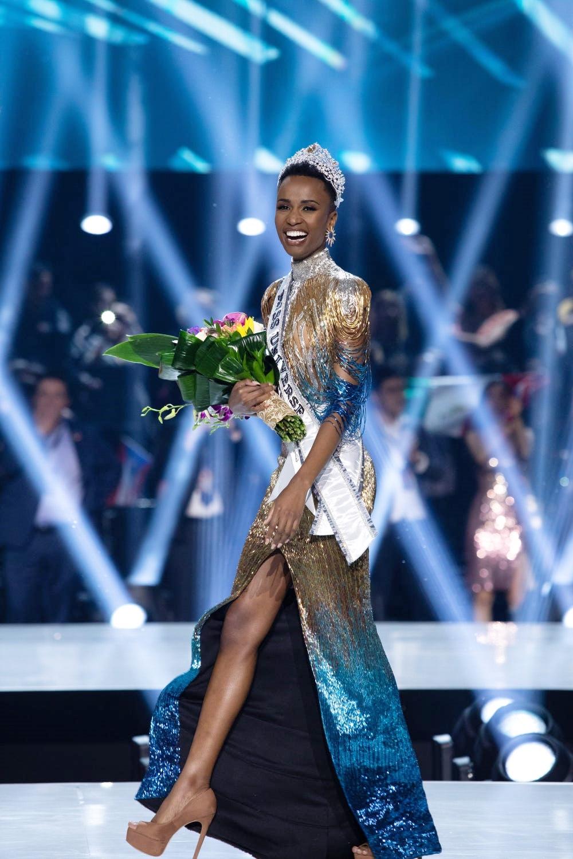 Đương kim Hoa hậu Hoàn vũ Zozibini Tunzi. Ảnh: Reuters