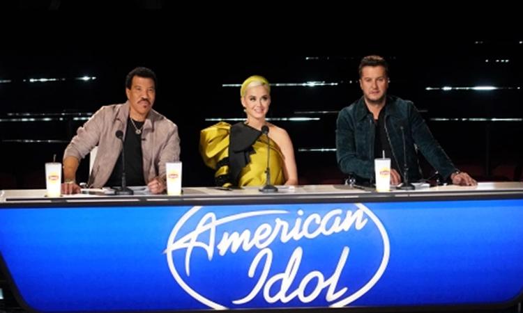 Ban giám khảo American Idol Lionel Richie, Katy Perry và Luke Bryant (từ trái qua). Ảnh: ABC.