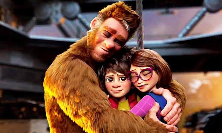 Gia đình Adam trong phim. Ảnh: IMDB.