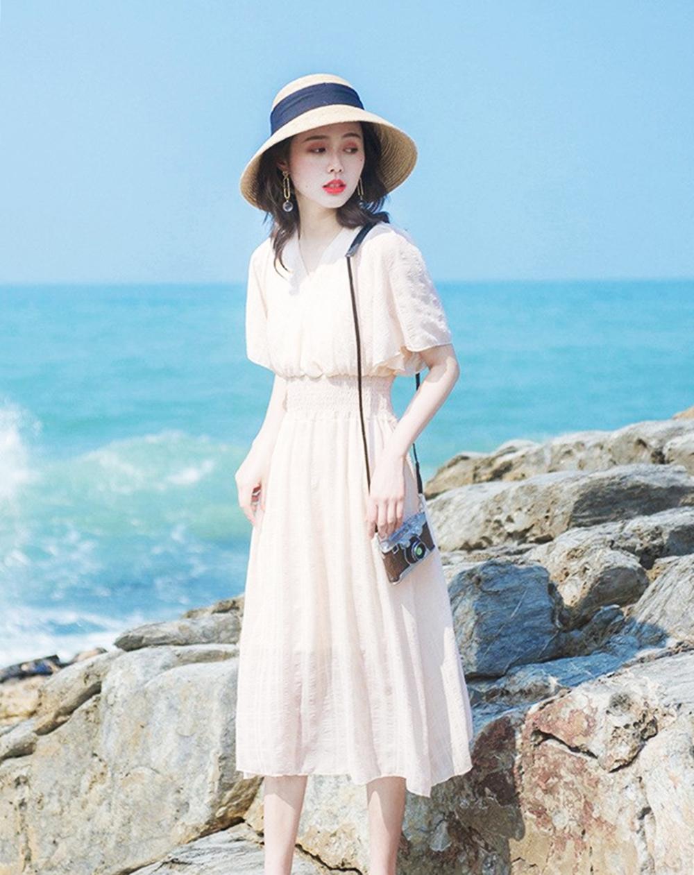 Váy retro thích hợp dạo phố, đi biển - 10