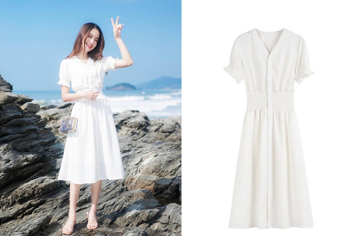 Váy retro thích hợp dạo phố, đi biển - 6