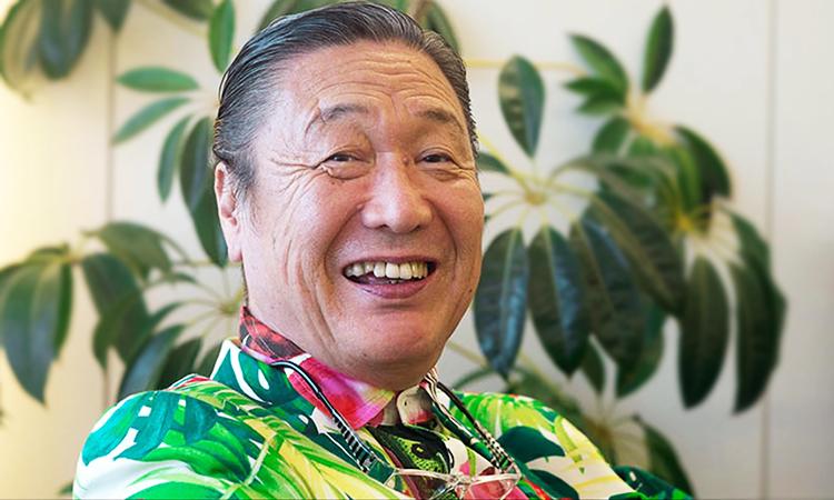 Nhà thiết kế Kansai Yamamoto giữ tinh thần lạc quan đến cuối đời. Ảnh: GQ.