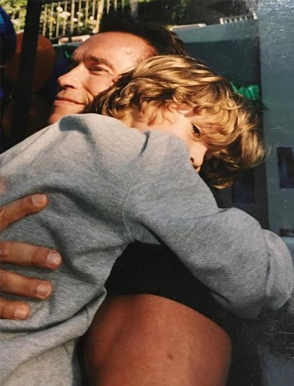 Joseph Baena đăng ảnh thời thơ ấu mừng sinh nhất cha. Ảnh: Joseph Baena Instagram.