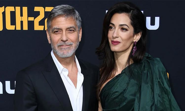 Vợ George Clooney - Amal Alamuddin - sinh ra tại Beriut, chuyển tới Anh sống từ năm hai tuổi. Ảnh: AFP.