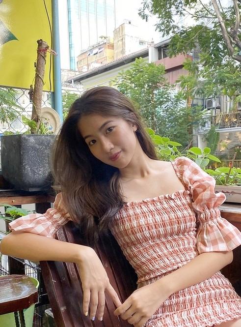 Nhan sắc đời thường của Phạm Thị Hà Thi.