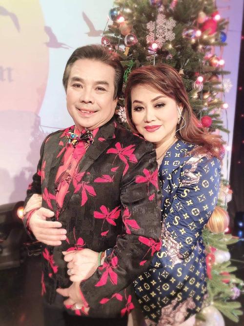 Vợ chồng nghệ sĩ Philip Nam - Cẩm Thu. Ảnh: Nhân vật cung cấp.