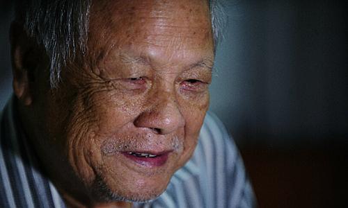 Nghệ sĩ Trần Phương ở tuổi ngoài 80. Ảnh: Quý Đoàn.