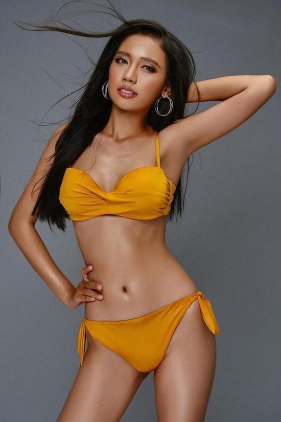 Người đẹp diện bikini tôn dáng. Ảnh: Hoa hậu Việt Nam.