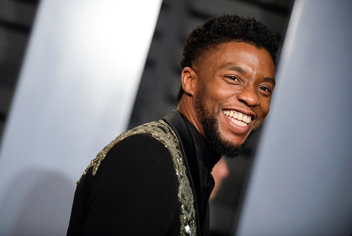 Chadwick Boseman luôn gây ấn tượng với sự thân thiện và nụ cười tươi rạng rỡ. Ảnh: New York Times.