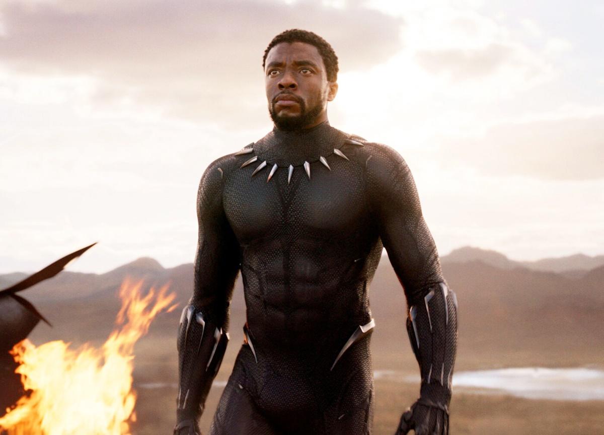 Boseman trong Black Panther. Ảnh: Marvel Studios.