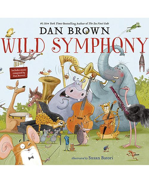 Sách Wild Symphony dành cho trẻ em từ 5 -7 tuổi. Họa sĩ Hungary - Susan Batori minh họa. Cảnh thiên nhiên trong tranh minh họa được lồng ghép ký hiệu và câu đố - đúng phong cách trinh thám của Dan Brown, dành cho độc giả tò mò, thích sự thử thách. Ảnh: wildsymphony.
