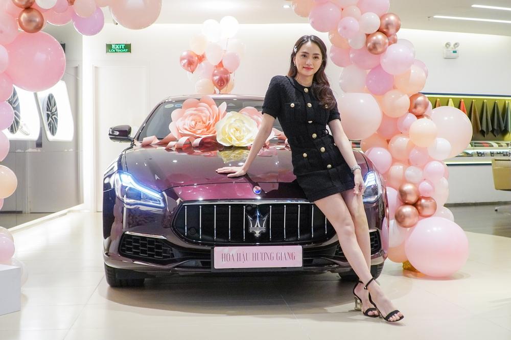 Hương Giang cho biết cô thích một chiếc xe đúng với cá tính, phong cách của mình. Ảnh: Phương Ngô.