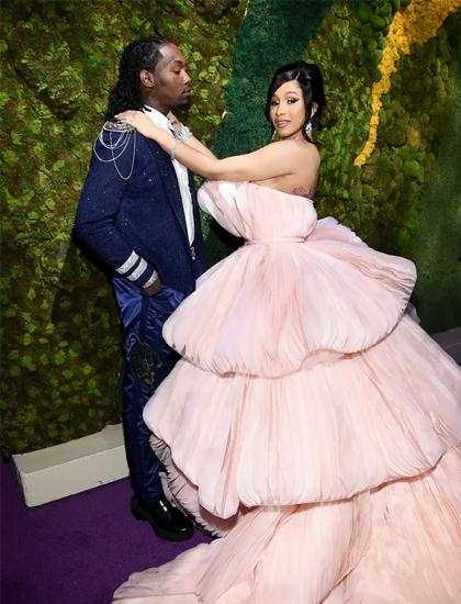 Cardi B và chồng Offset tại sự kiện Diamond Ball năm 2019. Ảnh: Diamon Ball.