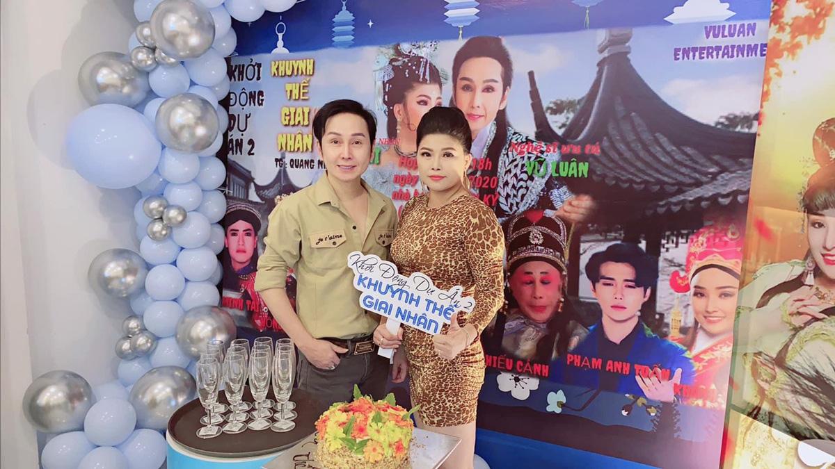 Nghệ sĩ Vũ Luân và Á hậu doanh nhân Kim Hi khởi động dự án Khuynh thế giai nhân.