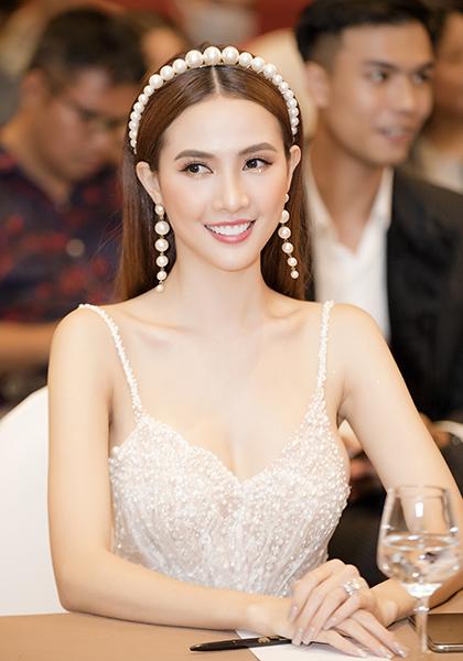 Phan Thị Mơ tại buổi ra mắt phim Kiều @ chiều 16/9. Ảnh: Bình Nguyên/