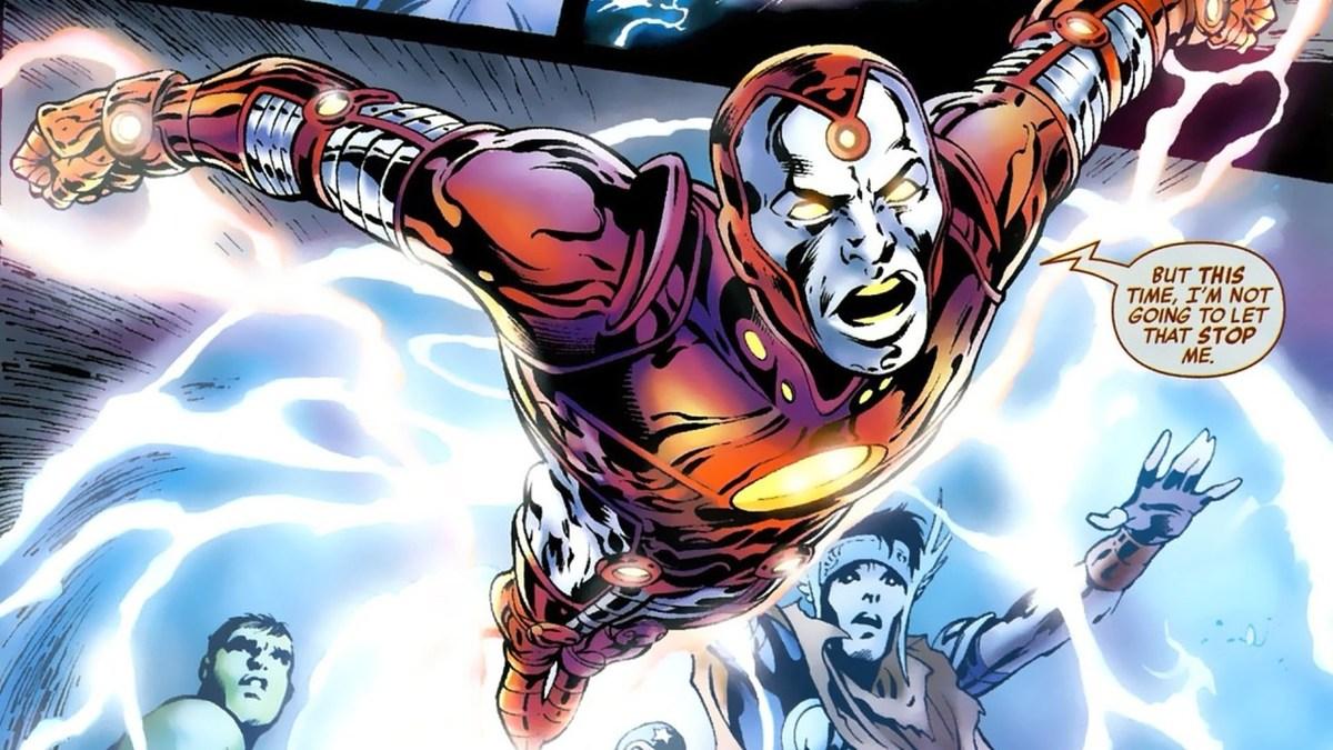 Iron Lad là phiên bản anh hùng của Kang. Ảnh: Marvel