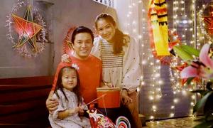 Lam Trường đón Trung thu bên con gái