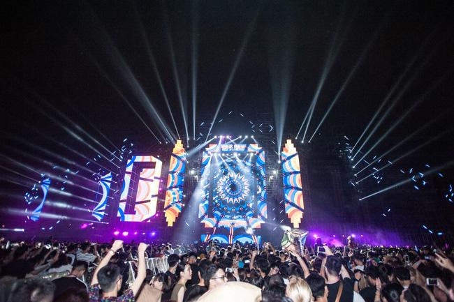 Những bản phối EDM sôi động TPBank dành tặng khán giả tại nhạc hội Nex Music Festival 2018.