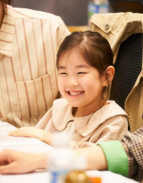 Thời điểm Cục nợ hóa cục cưng chưa bấm máy, Park So Yi đã trải qua buổi thử vai với khoảng 300 thiếu nhi khác. Ảnh: Hancinema.