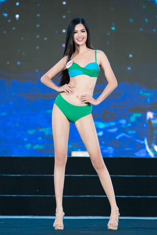 \Từ vòng sơ khảo đến nay, cô thể hiện tốt, ngày càng tỏa sáng. Trên fanpage Hoa hậu Việt Nam, nhiều khán giả dự đoán cô vào top 5.