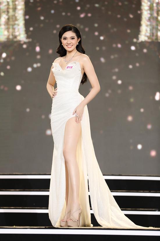 Từng thi Hoa khôi Đại học Hoa Sen 2020 với tâm thế trải nghiệm, khắc phục tính nhút nhát, người đẹp bất ngờ khi giành ngôi vị cao nhất. Tại Hoa hậu Việt Nam 2020, cô kỳ vọng vào Top 5.