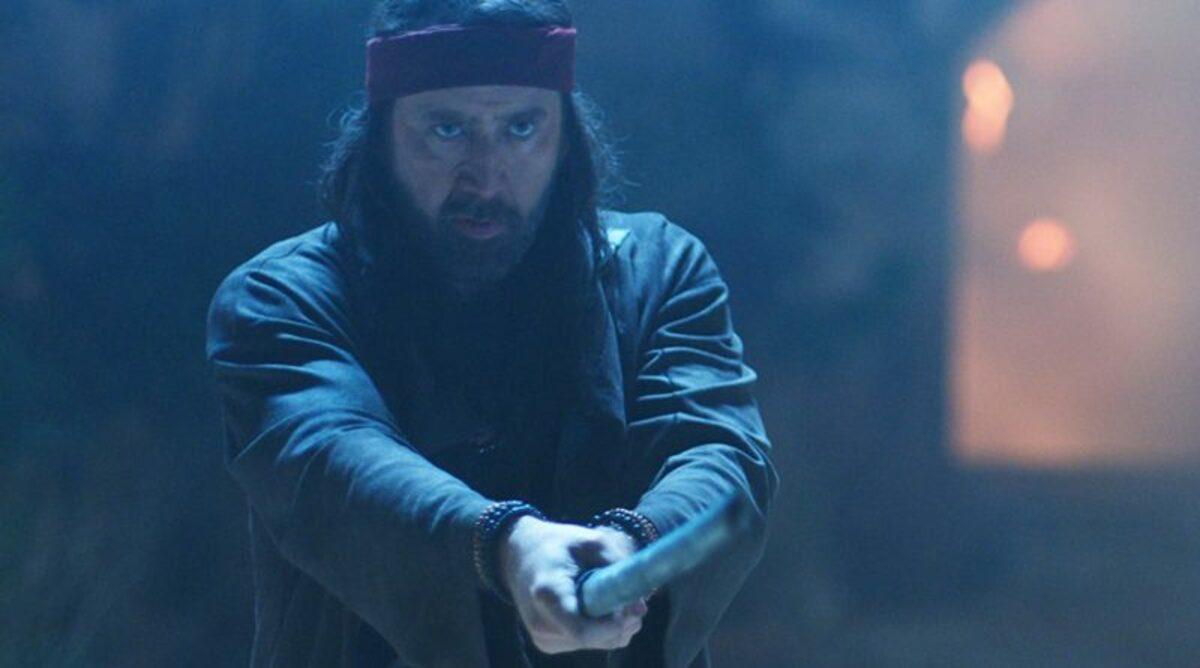 Tạo hình của Nicolas Cage trong Jiu JItsu. Ảnh: Grappling Insider.