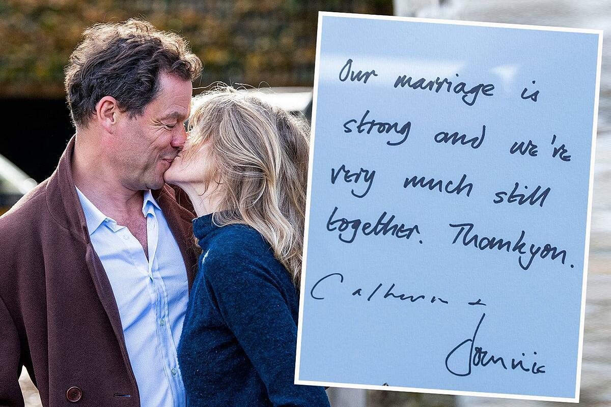 Dominic West và vợ hôn nhau trước dinh thự ngay sau bê bối ngoại tình của nam diễn viên. Ảnh: Splash News.