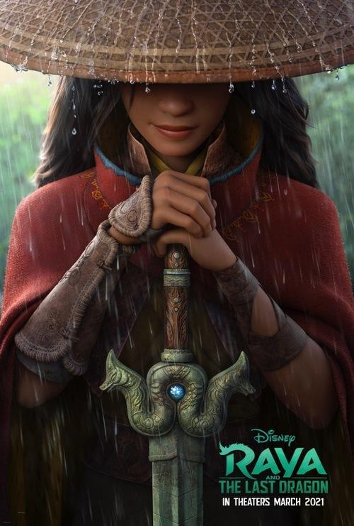 Poster của Raya and the Last Dragon. Ảnh: Walt Disney.