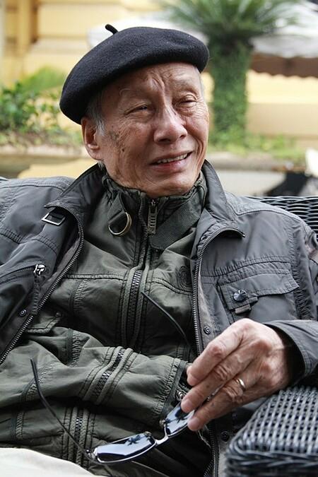 Nhạc sĩ Văn Ký. Ảnh: Nguyễn Đình Toán.