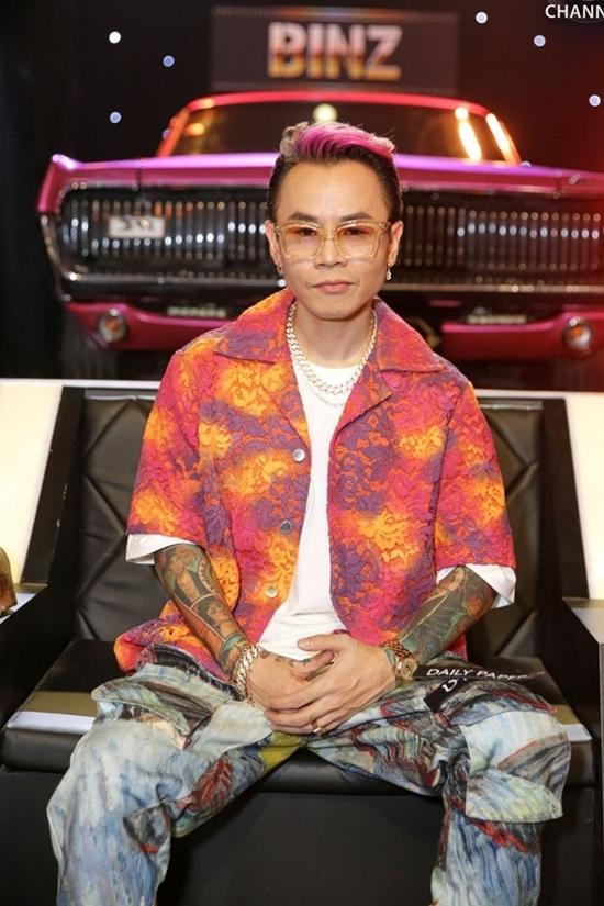 Binz - rapper nghiện màu hồng - 2