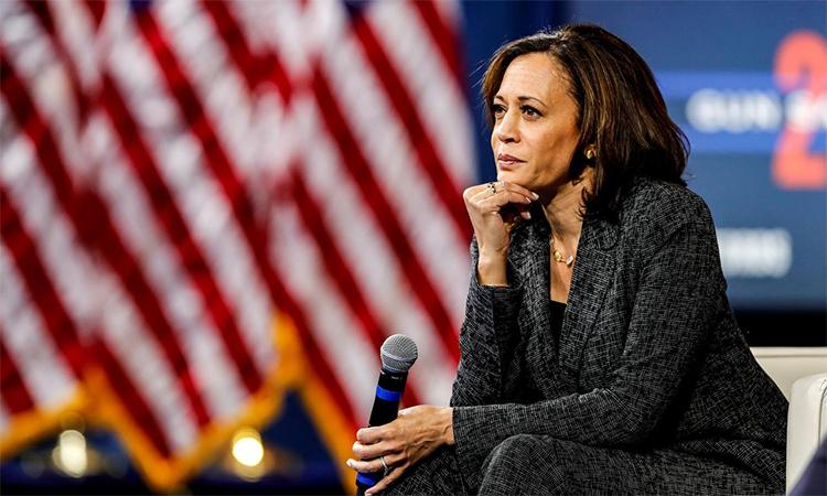 Bên cạnh Joe Biden, giới sao ăn mừng Kamala Harris trở thành nữ phó tổng thống đầu tiên của nước Mỹ. Ảnh: Reuters.