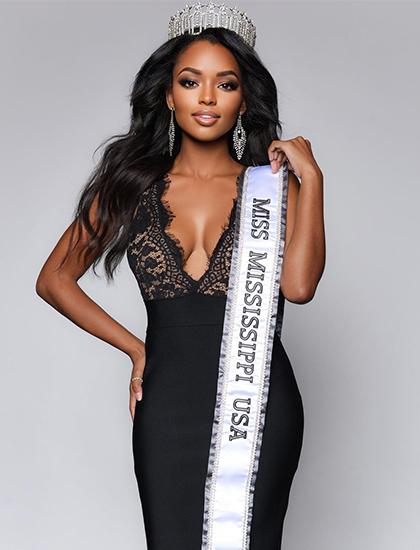Asya Branch đăng quang Miss USA 2020. Ảnh: Miss USA.